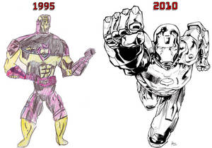 Ironman, then and now