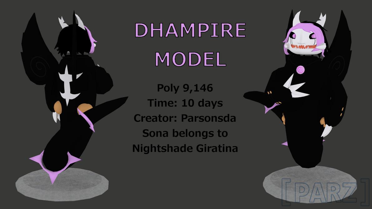 Dhampir 3D Model by Parsonsda