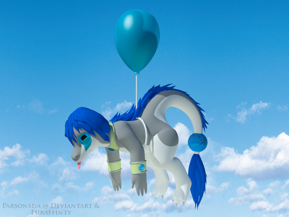 Light~ Happy Balloon Dragon! by Parsonsda