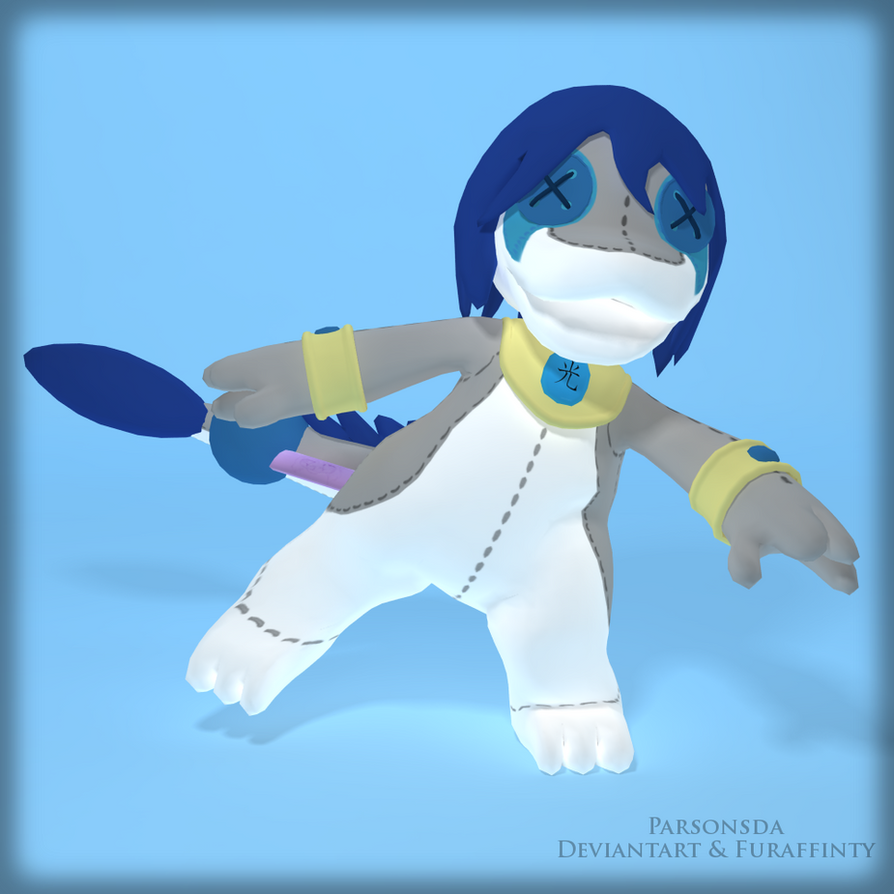 Plush Light Dragon - Soft new form! by Parsonsda