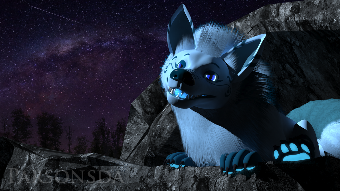 Akiro Luxeon - Night Sky Render - Gift for Glaceon by Parsonsda