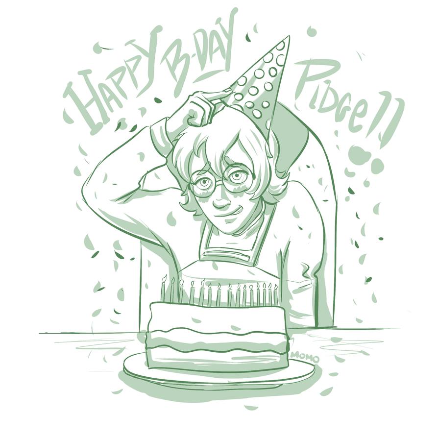 Happy Bday Pidge! by momowiblu