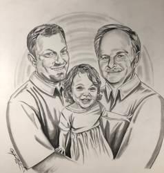 3 generations portrait
