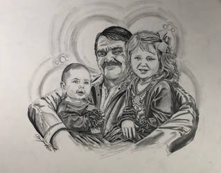 Grandfather and grandchildren 2