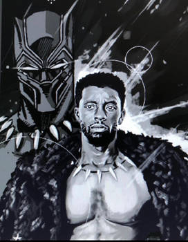 Chadwick Boseman portrait