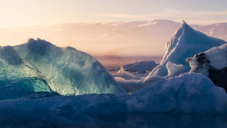 Mountains of Ice by Mashuto