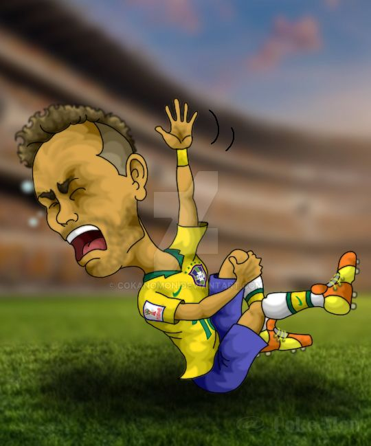 Neymar Jr. (Russia World Cup 2018) by CokanoMon