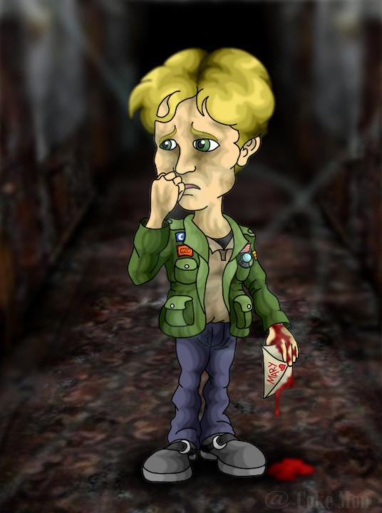James Sunderland Silent Hill 2 By Cokanomon On Deviantart