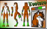 Keetazo Reference Sheet by FipsNezu