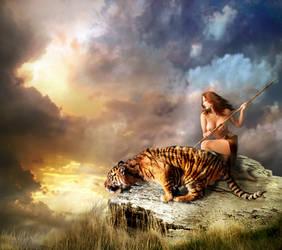 Tigress by wildheartfreesoul