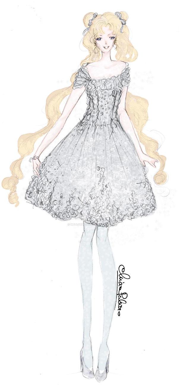 Usagi Tsukino - Haute Couture by Mellorine91