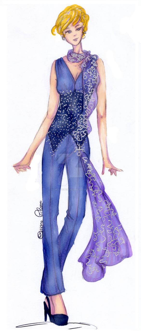Haruka Ten'ou - Haute Couture by Mellorine91