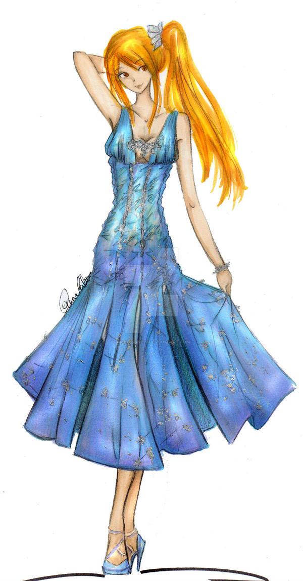 Lucy Heartphilia - Haute Couture by Mellorine91