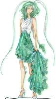Lettuce Midorikawa - Haute Couture