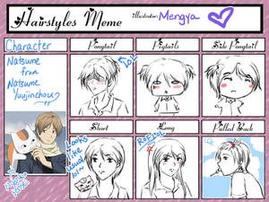Natsume Hairstyles Meme
