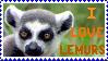 Stamp- Ring-Tailed Lemur