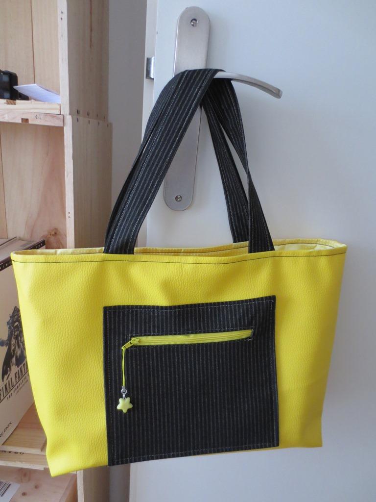 Sunny starry beach bag/Sac de plage soleil etoile by MUbyGaelle