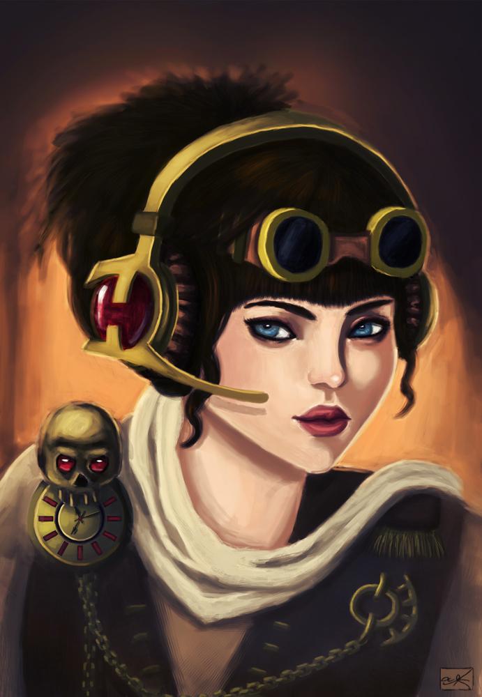 Clockwork Raven by Anzu-K