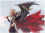 Cloud - Kingdom Hearts