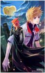 Kingdom Hearts: Axel and Roxas