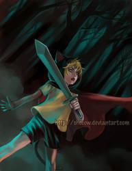 Jabberwocky - Sword In Hand by SheCow