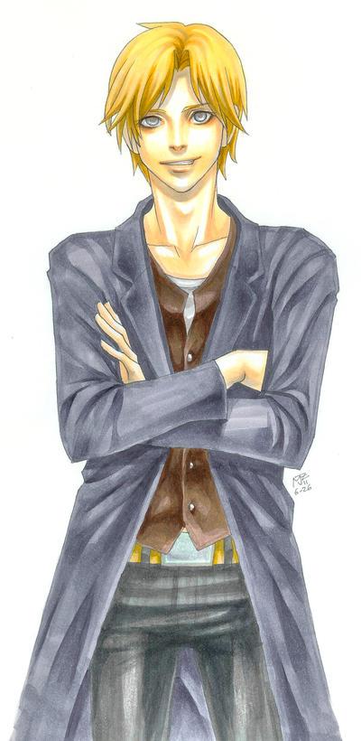 Copic commission Edmund