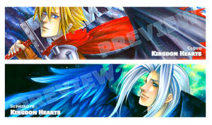 KH_Cloud and Sephiroth