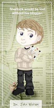 John Watson Bookmark