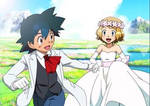 Ash and Serena Married (Edit) by ManaphyLovers18