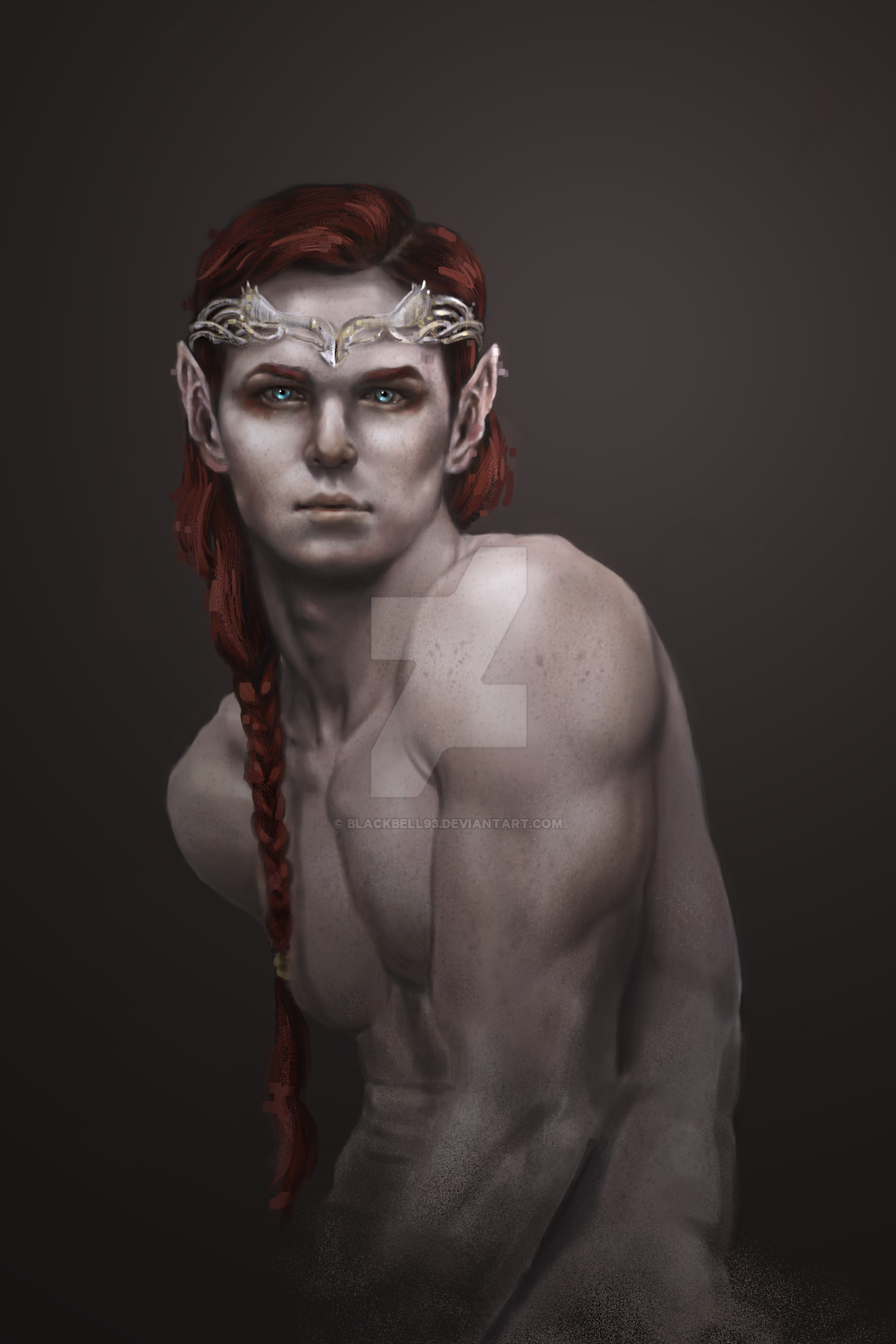 Tuatha Prince WIP 2 by Blackbell93