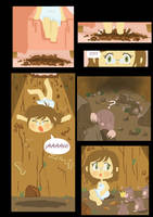'Mole Girl' page 2 by Blackbell93
