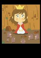 'Mole Girl' page 3 Final by Blackbell93