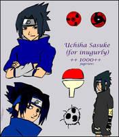id sasuke by inugurly