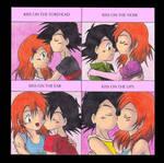 Cute-Kiss meme with AshxMisty