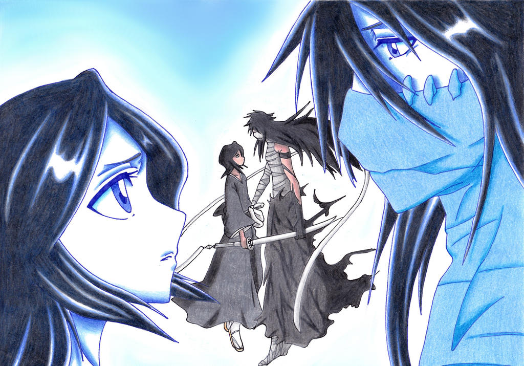 BE BY MY SIDE...RUKIA (Color) by KasumiKetchum