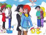 Commission: Winter Love