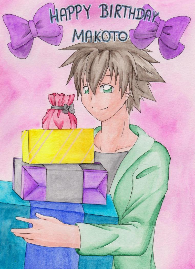 Happy Birthday Makoto by KasumiKetchum