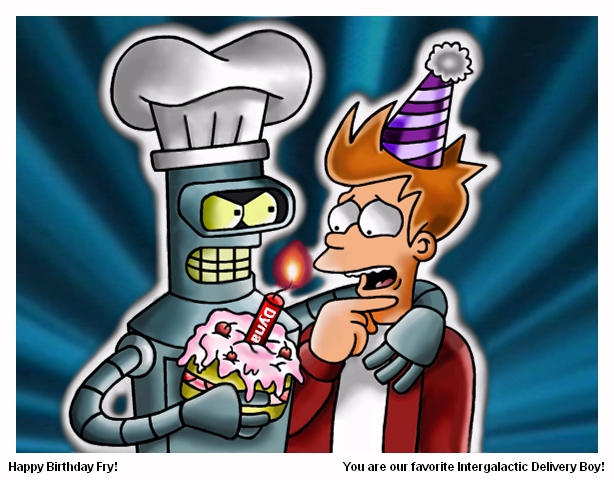 Happy birthday bender