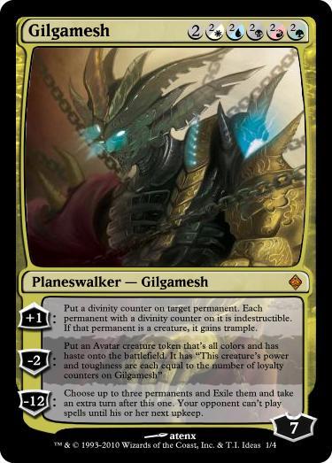 Gilgamesh, Planeswalker by Ryu-Zero-Rei on DeviantArt Planeswalker