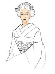 Geisha by HolyHaurelia