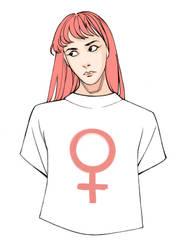 W for Woman by HolyHaurelia