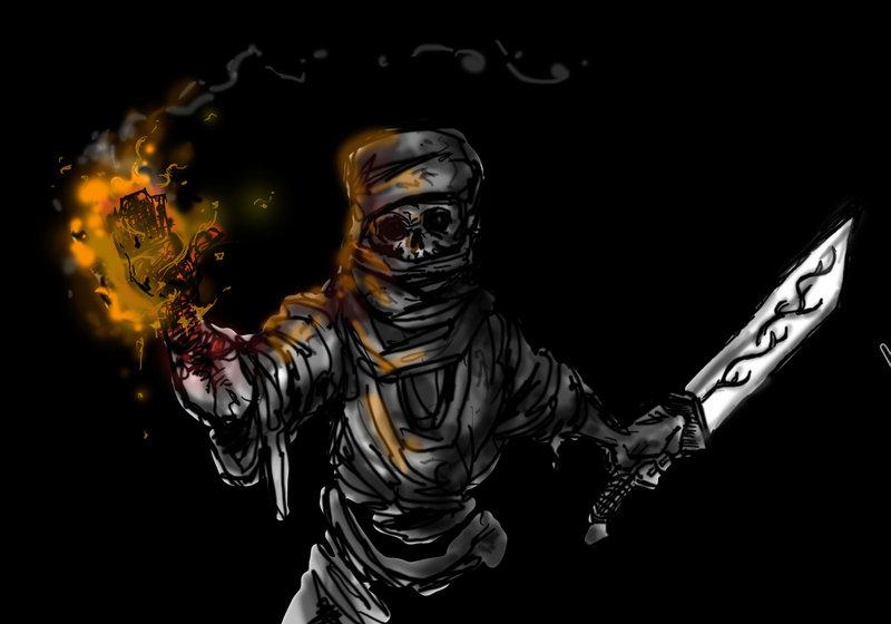 Fire Ninja by TomAbel on DeviantArt