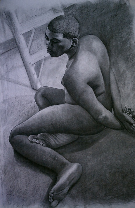 Nude Study by bubblyworks