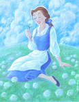 Belle Coloring Page