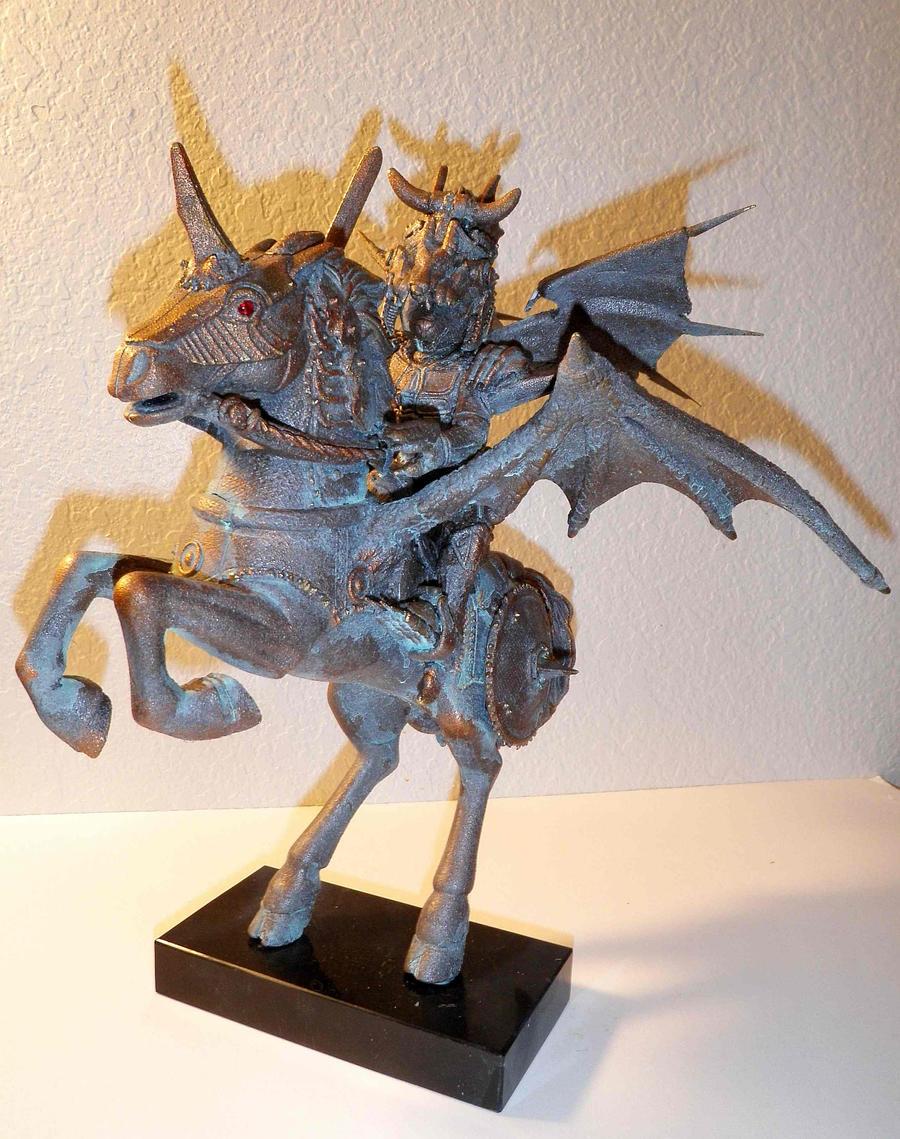 Horseman of the Apocalypse by LEXLOTHOR