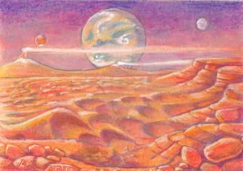 Exoplanetscape 2 by LEXLOTHOR