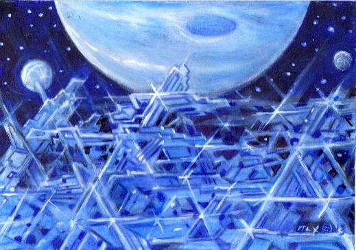 Exoplanetscape 14 by LEXLOTHOR
