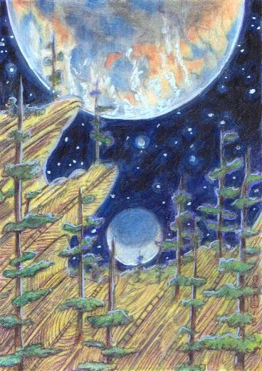 Exoplanetscape 18 by LEXLOTHOR