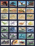 Paleo Stamp Collection 3