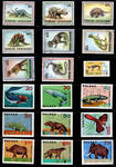 Paleo Stamp Collection 8